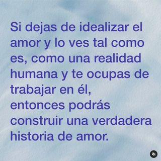 24. Idealizar el amor