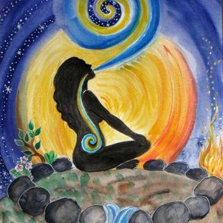 Iniziamo la preparazione al Digiuno Lunare 🌙💧con la meditazione di radicamento! 💕🌸✨