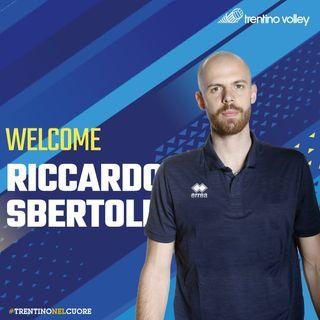 Le prime parole da giocatore di Trentino Volley di Riccardo Sbertoli