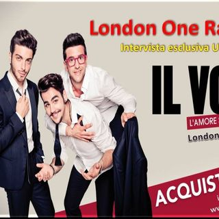Il VOLO in concerto a Londra intervista a Gianluca Ginoble -