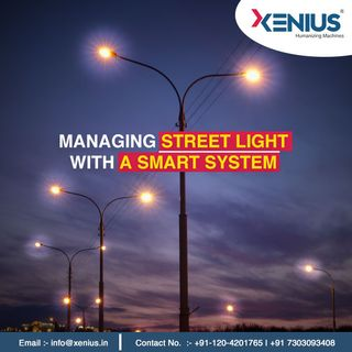 Managing street light with a smart system