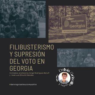 Filibusterismo y restricción del voto en Georgia
