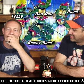 What if the Teenage Mutant Ninja Turtles were named after 80's WWF Wrestlers?