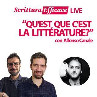 Che cos'è la letteratura? Con Alfonso Canale