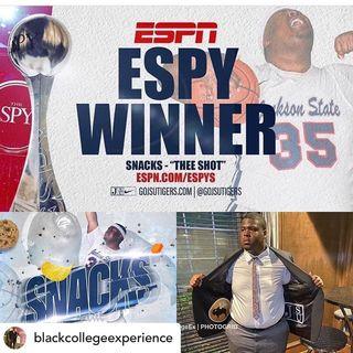 BCE POP-UP TALKS: Thomas 'Snacks' Lee of Jackson State University, ESPY Winner