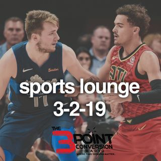 The 3 Point Conversion Sports Lounge- Trae or Luca (ROY), Celtics In Trouble, Should Arizona Get Kyler Murray, Bryce Harper Overpaid (?)