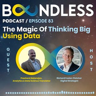 EP83: Prashant Natarajan, Analytics & Data Science Translator: The magic of thinking big using data
