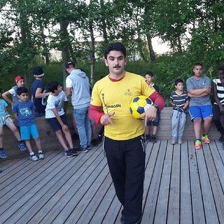 Nattfotboll i Oxhagen den 22:a juli