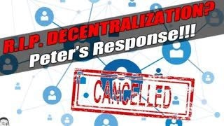 R.I.P. DECENTRALIZATION - Bitcoin Lost. Response to Michael K. Spencer's Medium Article