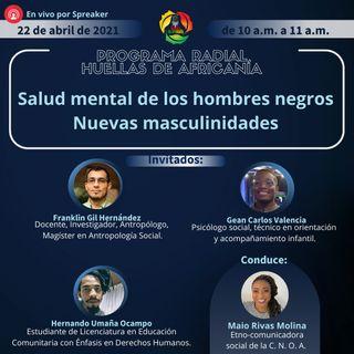 Salud mental de los hombres negros nuevas masculinidades