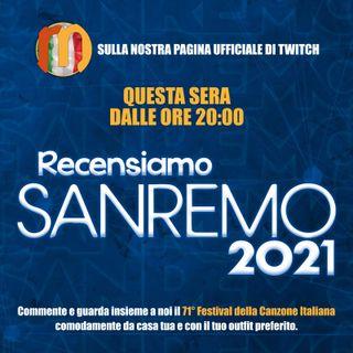 Sanremo 2021 - Il nostro PreFestival della 1° serata con Daniele Stefani