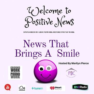 Positive News - A segment on Live Life In The Purple