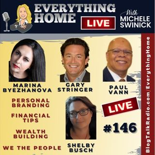 146 LIVE: Personal Branding, Financial Tips, Wealth Building, Patriots of 2021