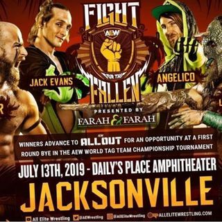 Episode 10 - #fightforthefallen | AEW VS. WWE | WHO WILL REIGN SUPREME?
