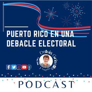 Debacle electoral en Puerto Rico
