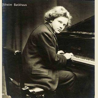 Wilhelm Backhaus, Pianist (Todestag 05.07.1969)