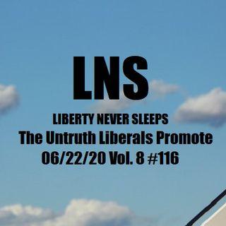 The Untruth Democrats Promote 06/22/20 Vol. 8 #116