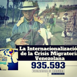 La internacionalización de la crisis migratoria venezolana