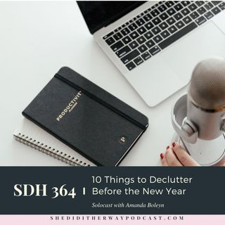 10 Things to Declutter Before the New Year