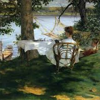 09 - Irving Ramsey Wiles – Afternoon tea on the terrace