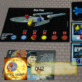 ID: 042: Five Year Mission Board Game
