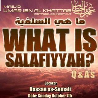 What is Salafiyyah