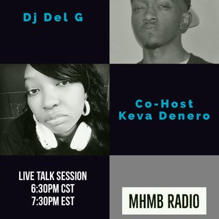 Live Talk Session with Dj Del.G & Co-host Keva Denero & Interview with Givari
