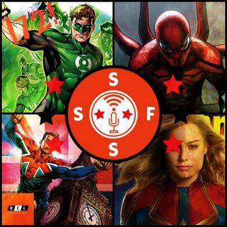 "Issue #172: ""A Firm Handshake"" (Capt Marvel first look, Superior Spider-man returning, Spider-man PS4, Capt Britain rumor, Greatest Green La"