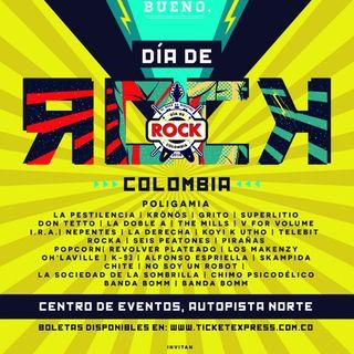 El Rock es nuestro, ya viene el 'Día de rock Colombia'
