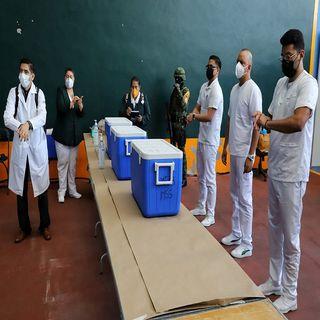 Gobierno capitalino y GN, realizaron simulacros en las macrounidades para la vacunación en MH
