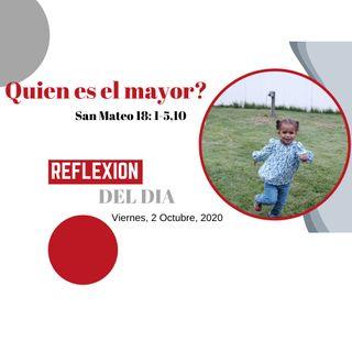 San MATEO 18 1-5,10 -QUIEN ES EL MAYOR_