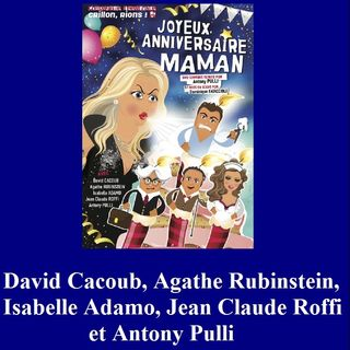 David Cacoub, Agathe Rubinstein, Isabelle Adamo, Jean Claude Roffi et Antony Pulli - Entretien Off 2017