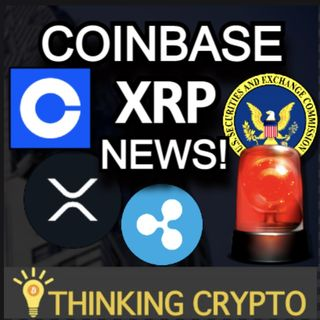 BREAKING - Coinbase is NOT Relisting XRP - SEC Hester Pierce Crypto - Brian Quintenz Joins a16z