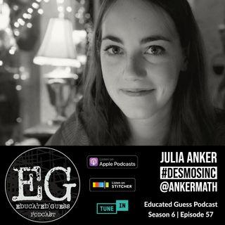 EP057: Julia Anker | Desmos vs. Peardeck
