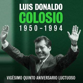 Familiares y políticos recuerdan a Colosio