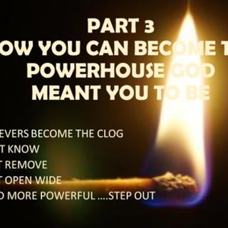 BECOMING THE POWERHOUSE PART 3  CLOGGED