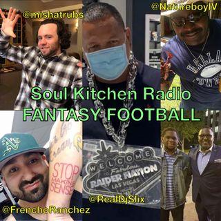 Soul kitchen radio fantasy Football Week2 / 2020