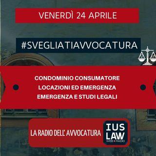 CONDOMINIO CONSUMATORE – LOCAZIONI ED EMERGENZA – EMERGENZA E STUDI LEGALI – #SVEGLIATIAVVOCATURA