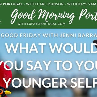 Feelgood Friday with Jenni B & the things we would say to our younger selves...