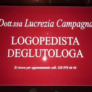 INTERVISTA LUCREZIA CAMPAGNA - LOGOPEDISTA