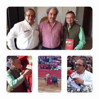 Décimo Tercer corrida de la México, Francis Wolff en  Fiesta Brava Domingo 27 de Enero 2019