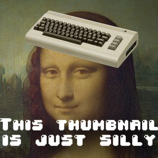 Mona Lisa Effect, Vintage Computers, and Distraction Reduction. OH look a penny....