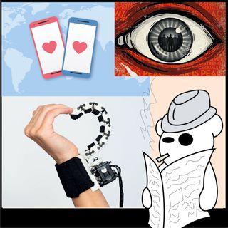 Psicoreati, dating app e dita robot