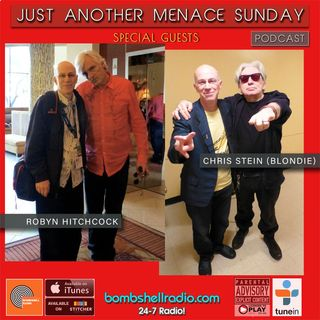 Just Another Menace Sunday #824 Robyn Hitchcock & Chris Stein (Blondie)