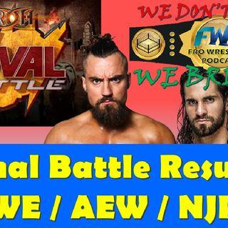 ROH Final Battle - WWE/AEW/NJPW News