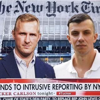 Vänsterns hot för att tysta   Anton och Jonas