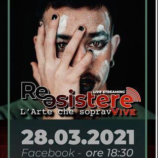Luca Freddari ci illustra il concerto ReESISTERE in programma in streaming domenica dal teatro Cortesi di Sirolo il 28 03 2021