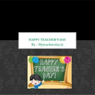 "National Teacher's Day: "" Here Come The Judge!"""