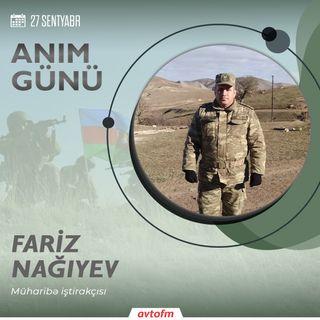 Fariz Nağıyev   27 Sentyabr - Anım günü