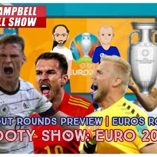 #EURO2020 KNOCKOUTS PREVIEW | #EUROS GROUP OF DEATH SETTLED | AC FOOTY SHOW: EURO 2020 #7